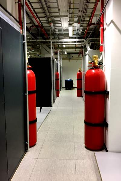 HCE - Data Center Room - Fire Extinguishers